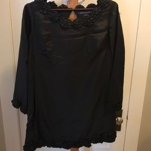 French Connection size 10 black dress